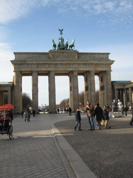 Brandenberger Tor - Brandenberg Gate Berlin