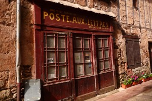 Poste aux lettres - post office in France